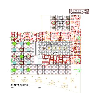 نقشه مجتمع مسکونی لوکس