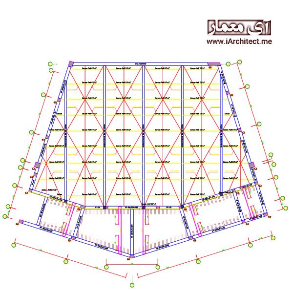 نقشه سالن آمفی تئاتر