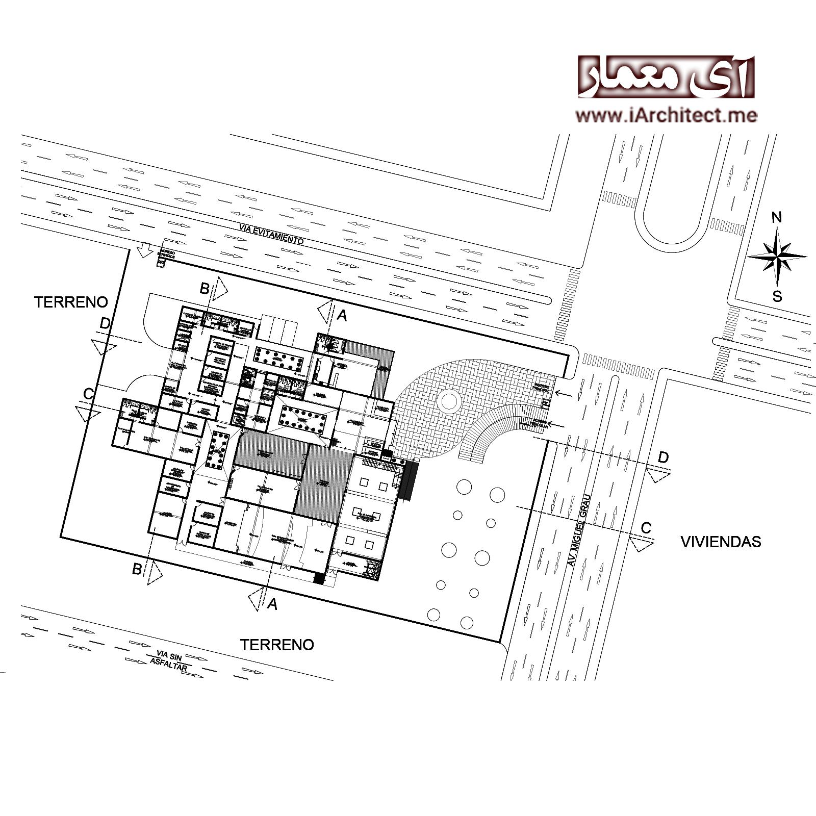 نقشه نمایشگاه