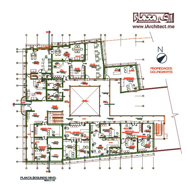 نقشه ساختمان شهرداری