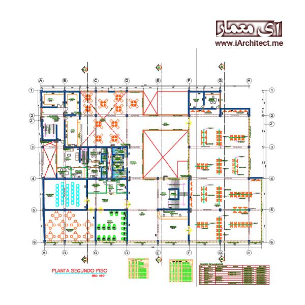 نقشه کتابخانه