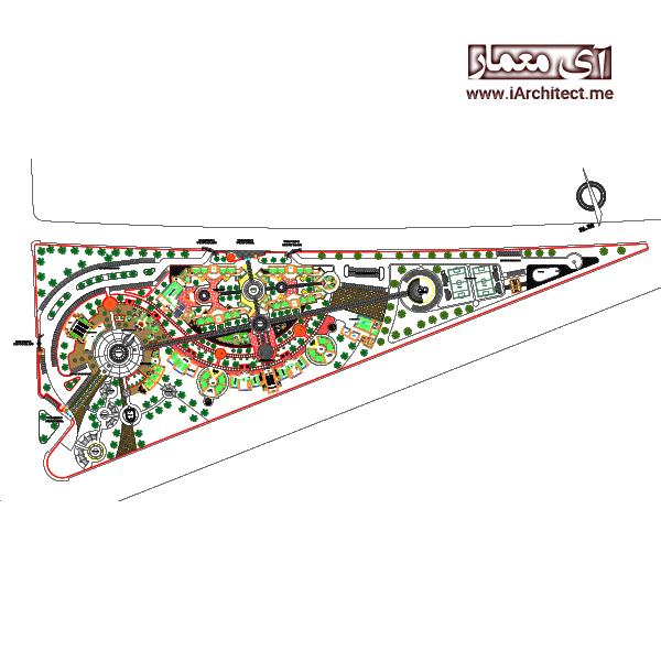 نقشه دانشکده بزرگ فنی