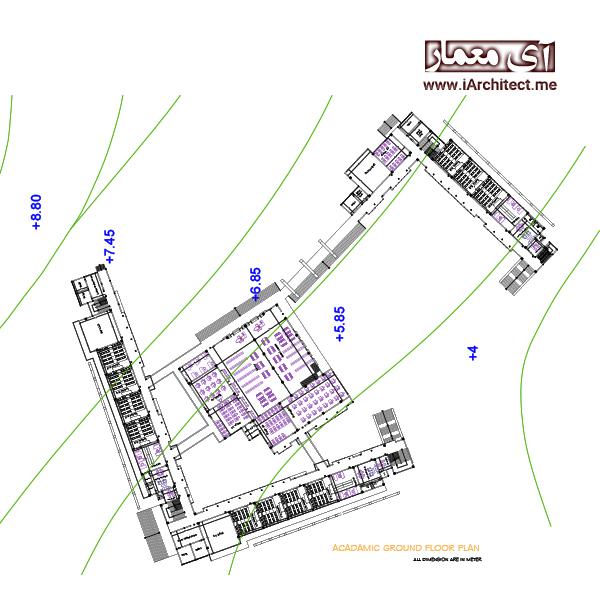 نقشه دانشگاه