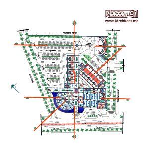 پلان_مرکز تجاری