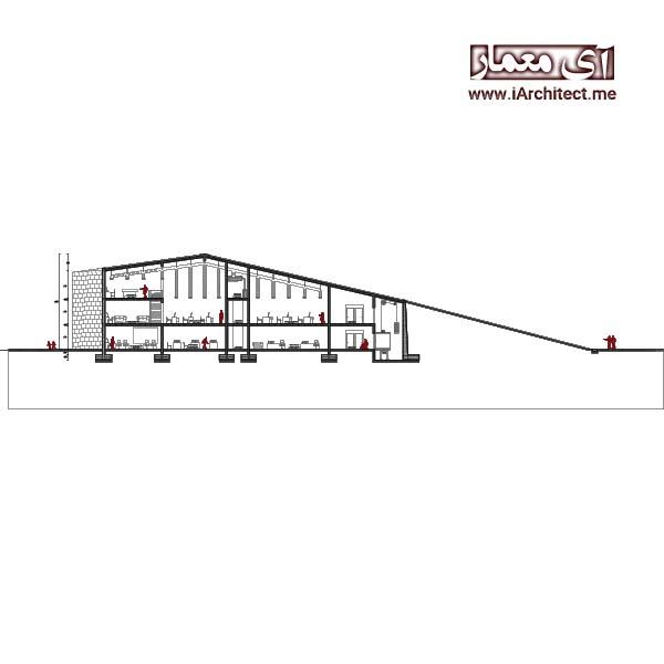 نقشه مدرسه معماری
