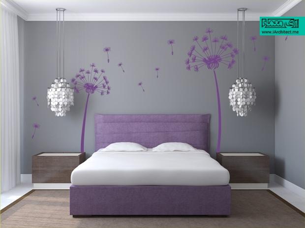طراحی اتاق خواب مدرن و نکات طراحی دکوراسیون آن