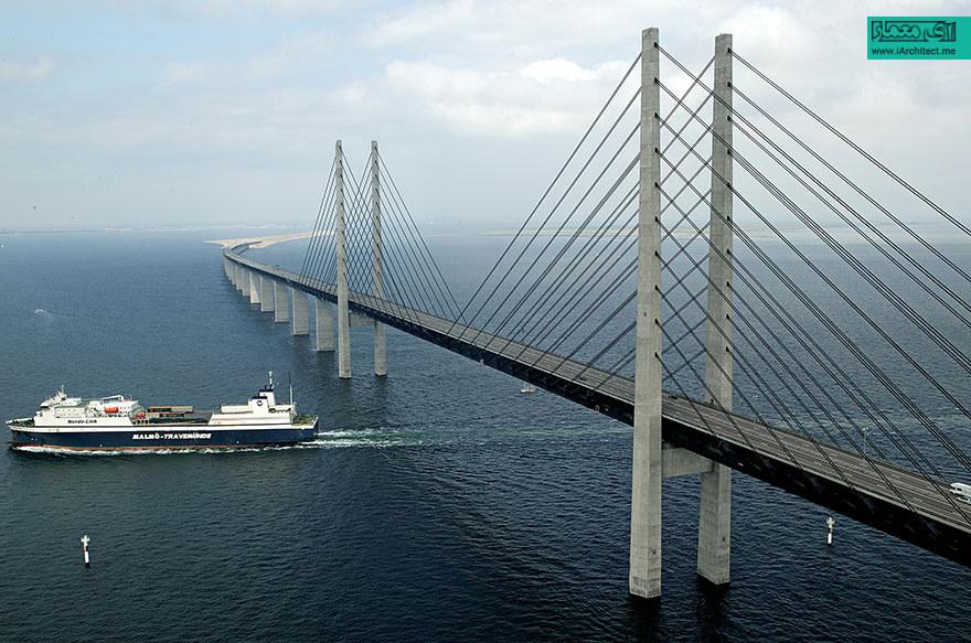 پل متصل کننده دانمارک به سوئد