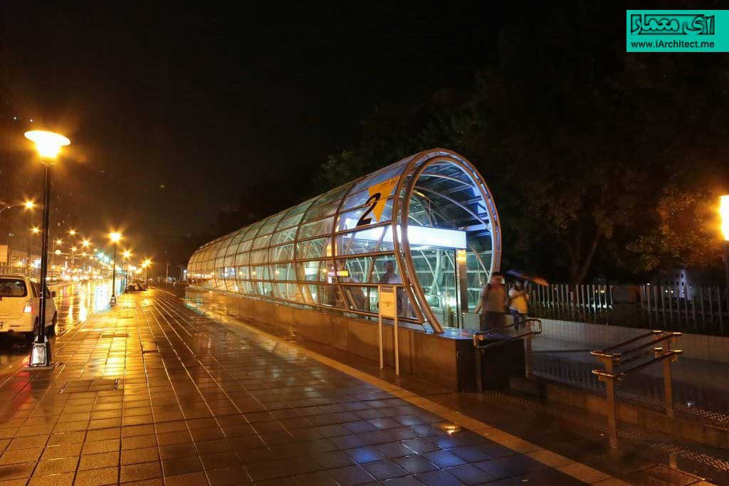 ایستگاه مترو در تایوان