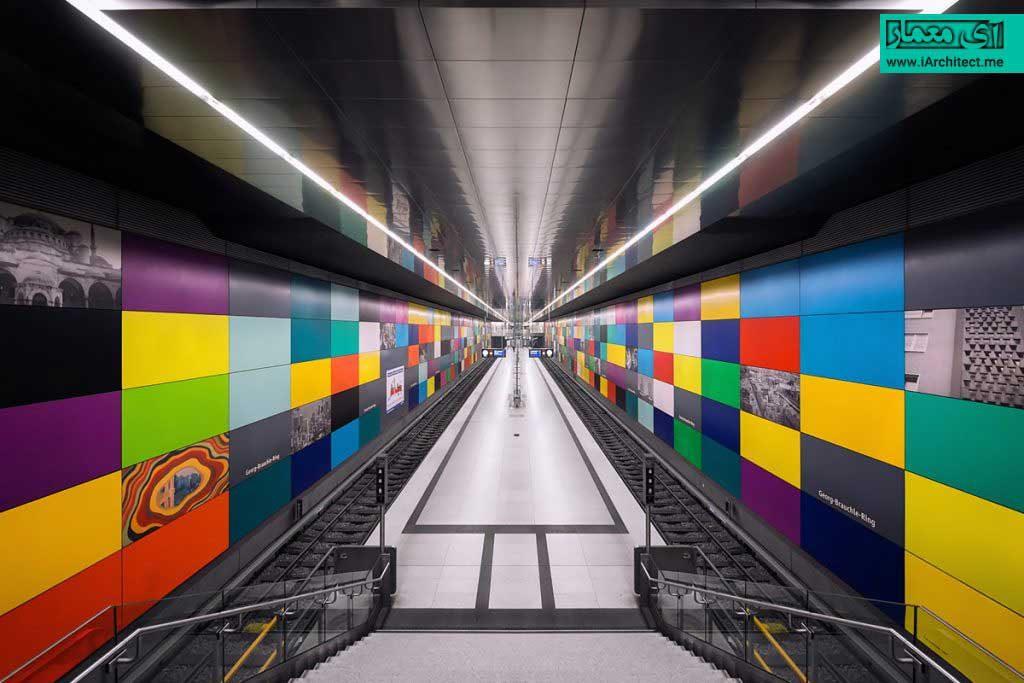 ایستگاه های مترو مونیخ