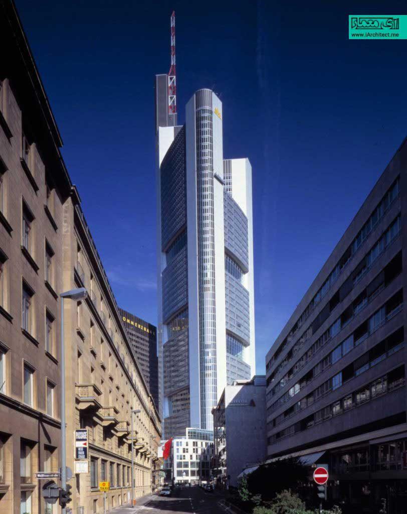 ساختمان مرکزی کامرز بانک نورمن فاستر