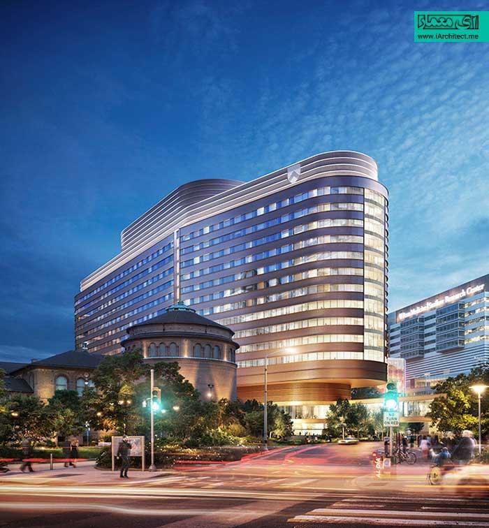 طرح جدید بیمارستان دانشگاه پنسیلوانیا توسط فاستر