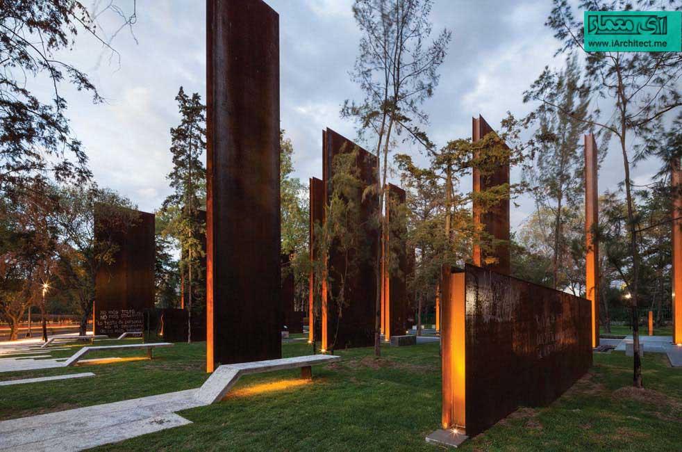 بنای یادبود قربانیان خشونت در مکزیک