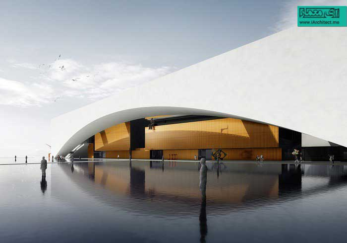 طراحی مرکز فرهنگی هنری شکو