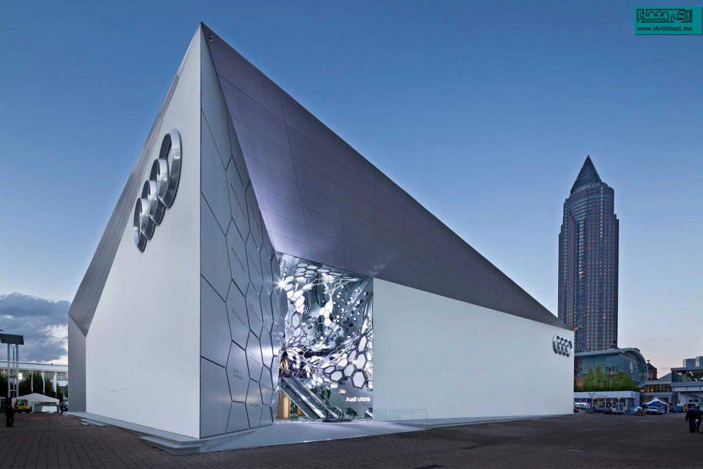 نمایشگاه ماشین آئودی در سال 2015