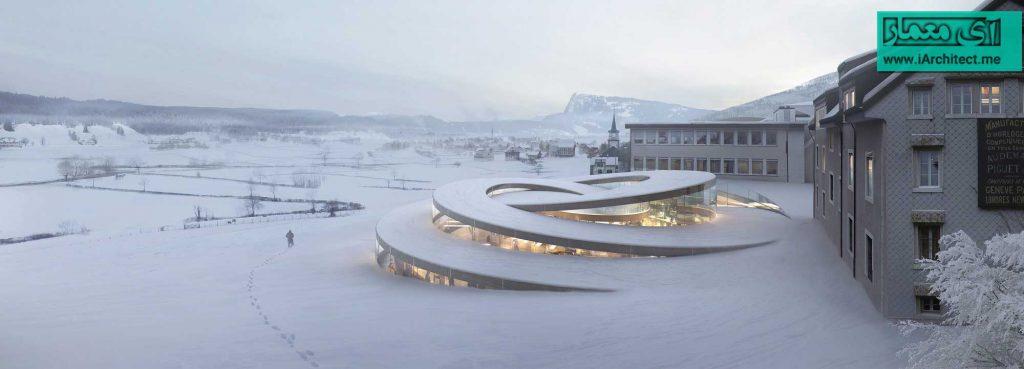 ساختمان برند سوئیسی ساعت