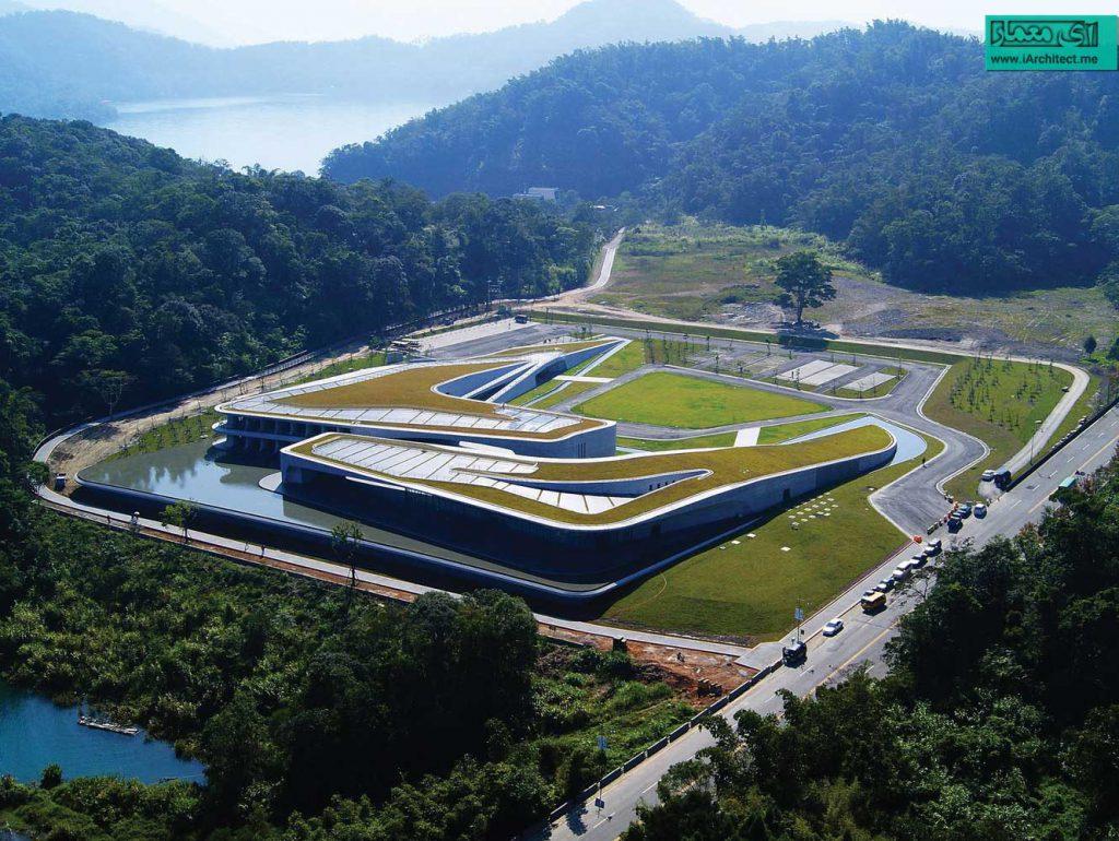 ساختمان مدیریت گردشگری در تایوان