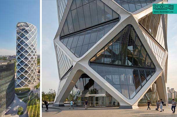 طراحی برج تجاری در چین