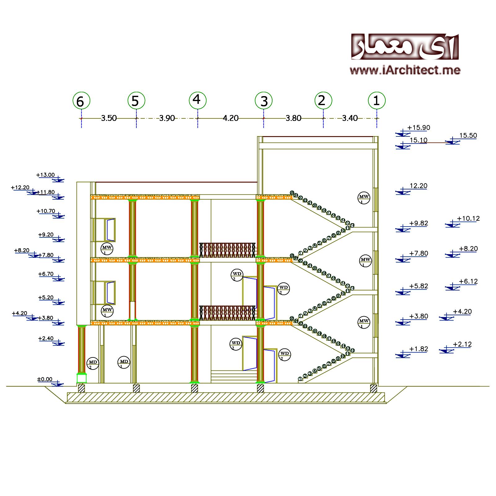 نقشه مدرسه