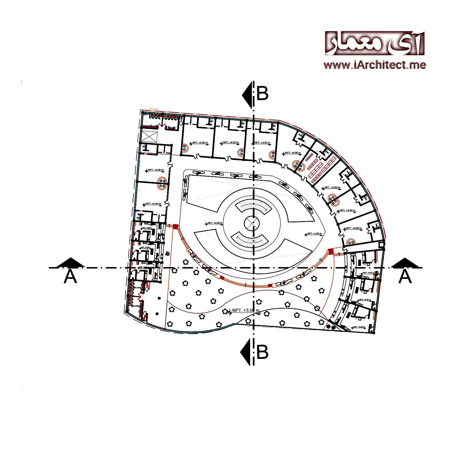 نقشه مرکز خرید