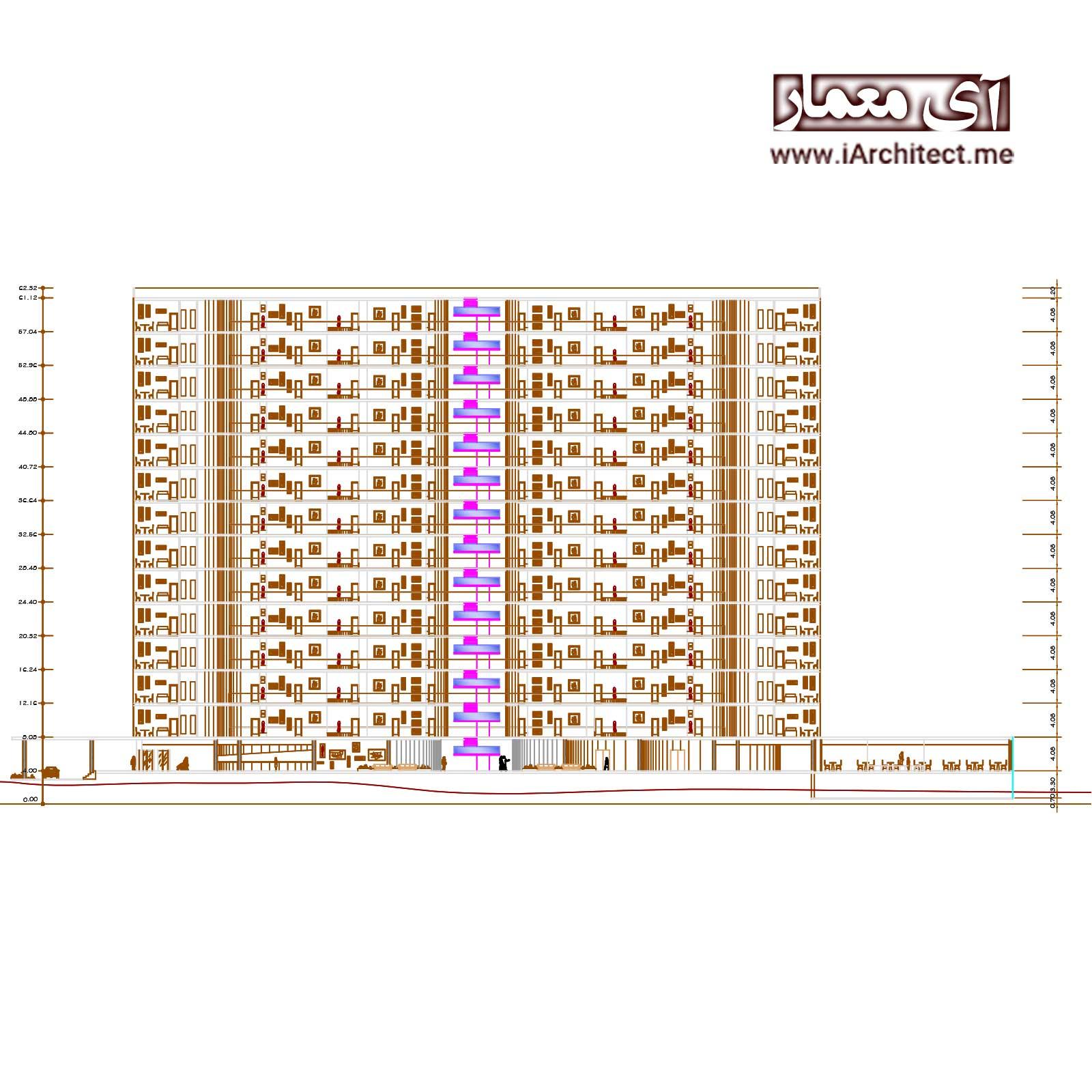 نقشه هتل رستوران