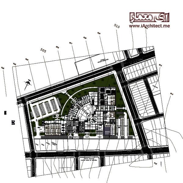 نقشه تجاری(مرکز خرید)