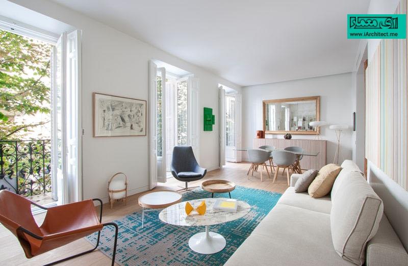 آپارتمان مدرن و روشن در مادرید اسپانیا