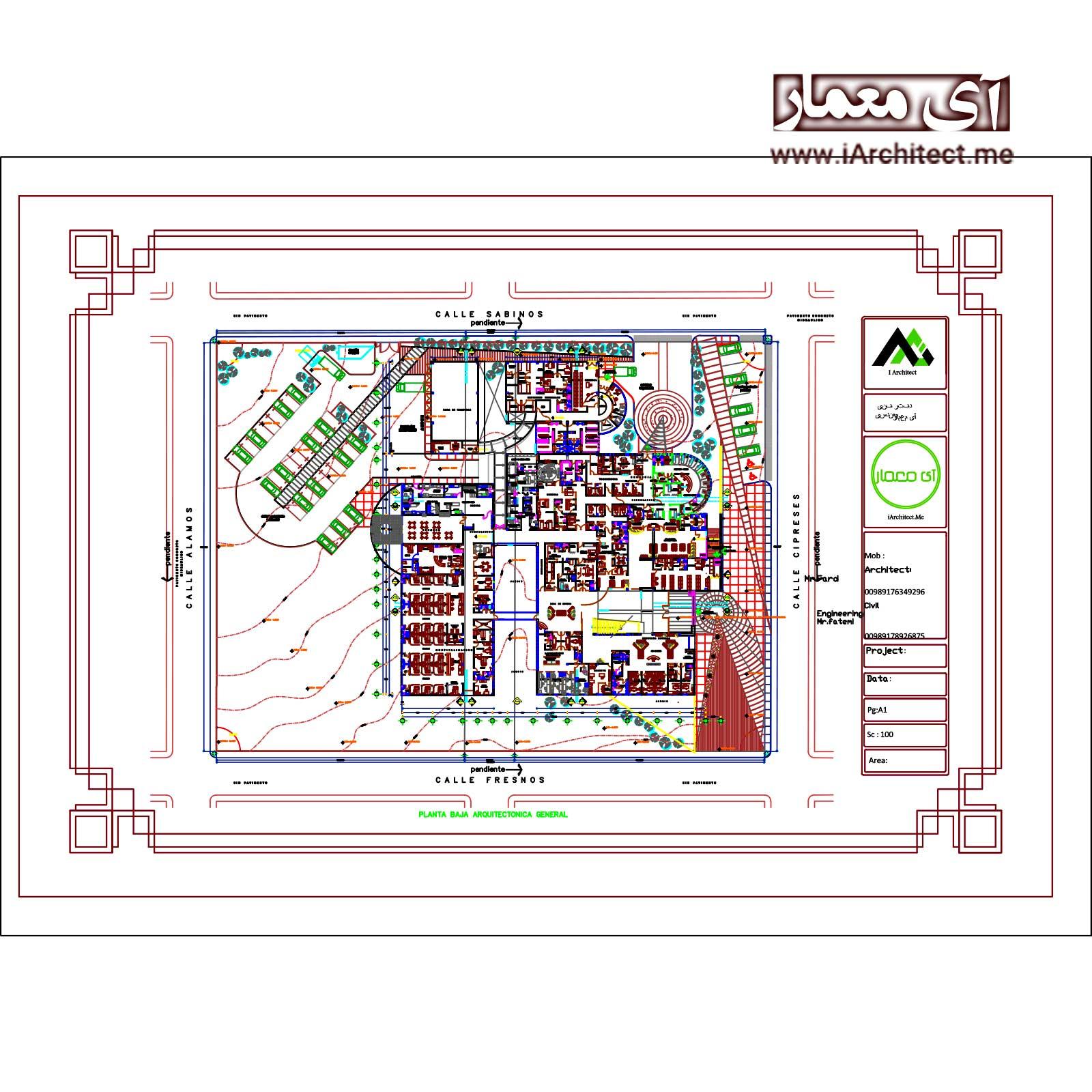 نقشه کلینیک