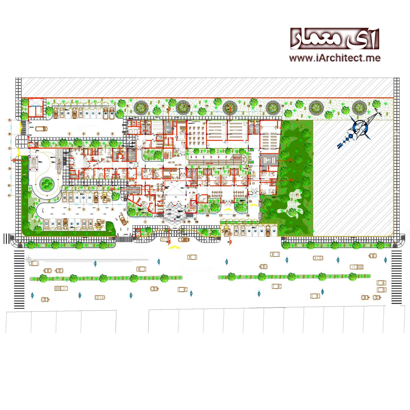 نقشه بیمارستان اطفال