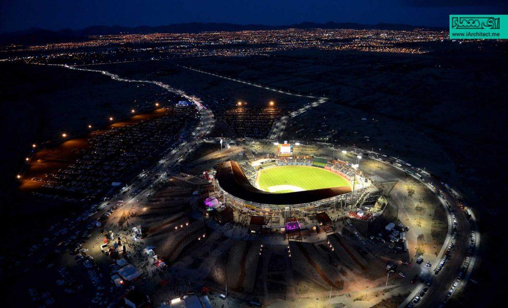 طراحی استادیوم ورزشی سونورا (Sonora)