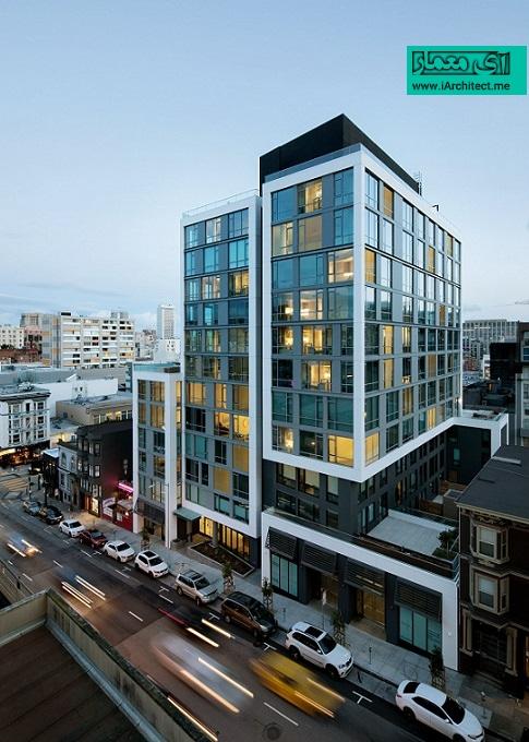 ساختمان مسکونی آستین در سان فرانسیسکو