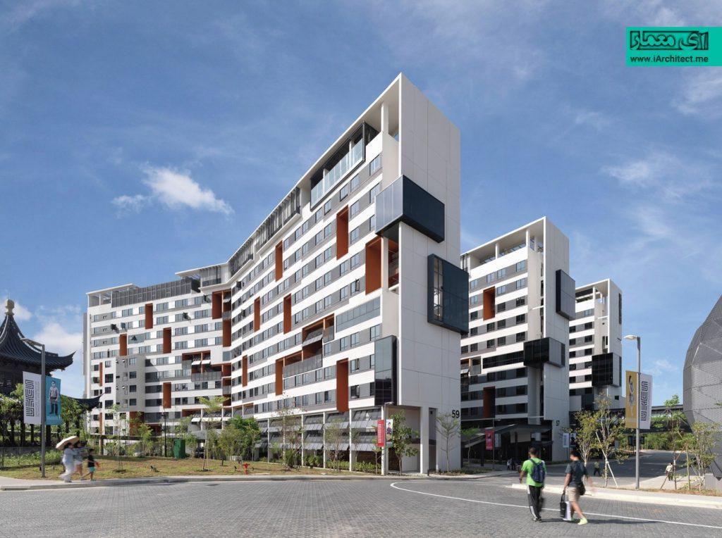 مجموعه مسکونی و ورزشی دانشگاه سنگاپور
