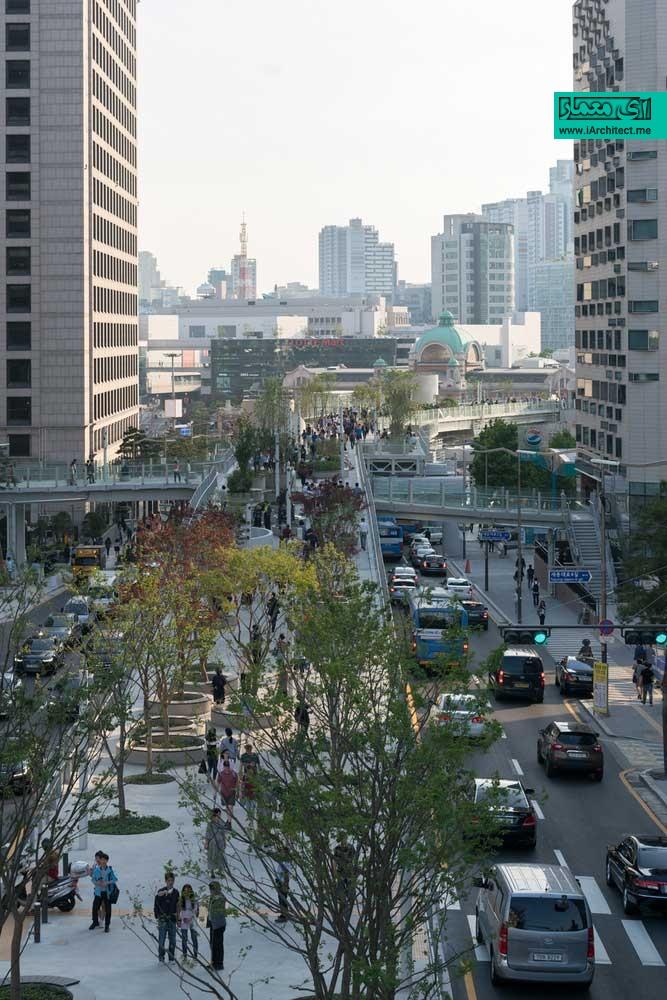 پارک اسکای گاردن در سئول