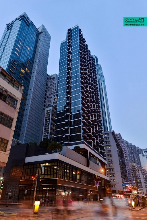 برج مسکونی در هنگ کنگ