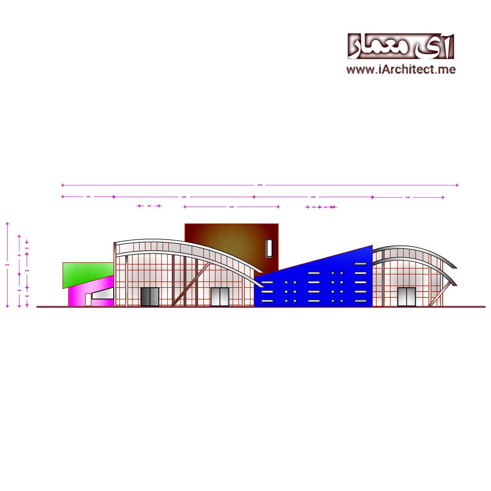 نقشه سالن کنسرت