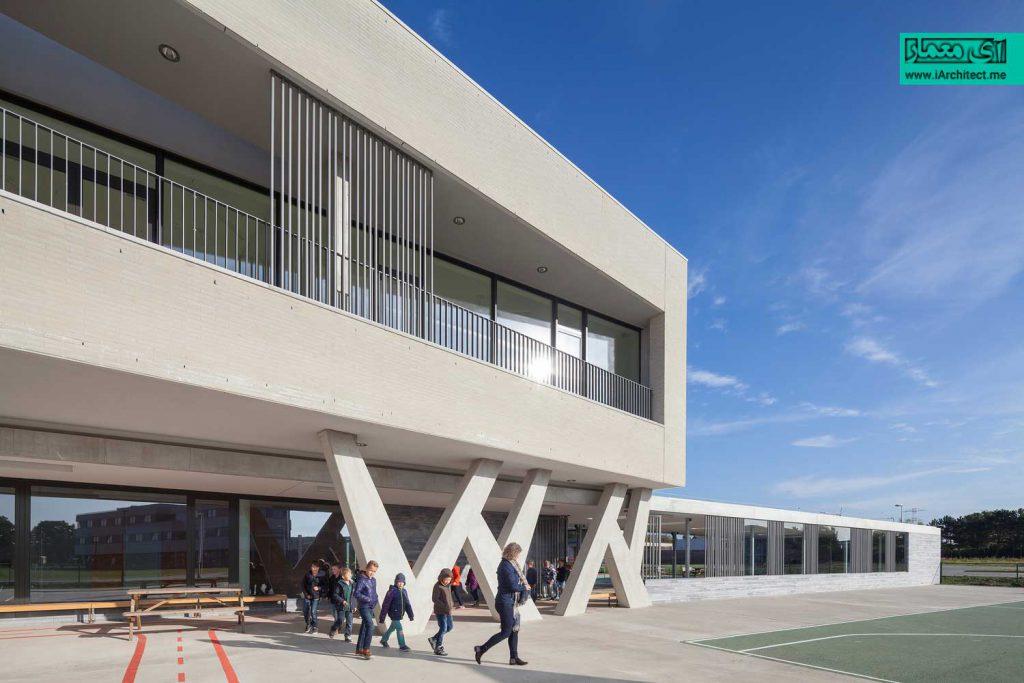 مدرسه سبز و پایدار در Campus Peer