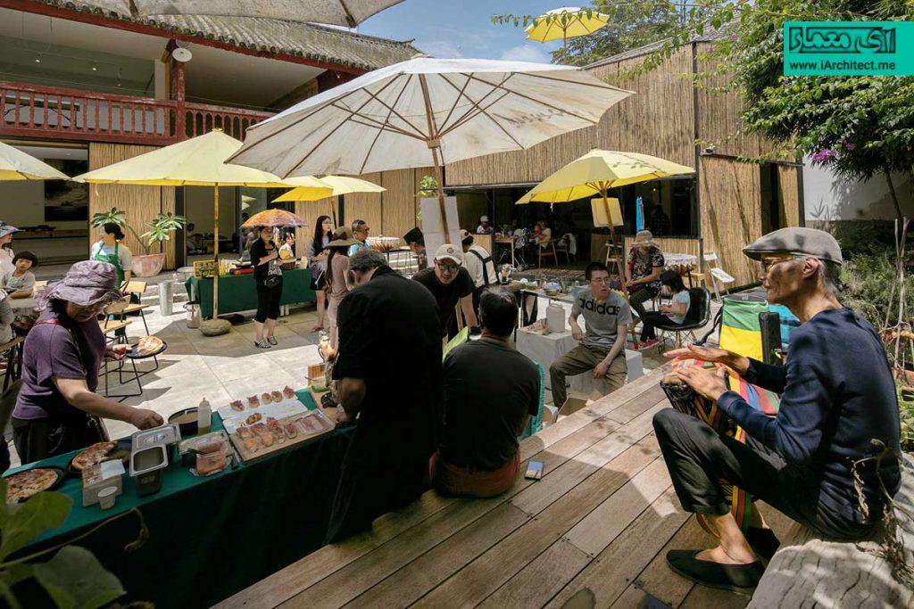 بازار و رستوران زراعی چایمیدو
