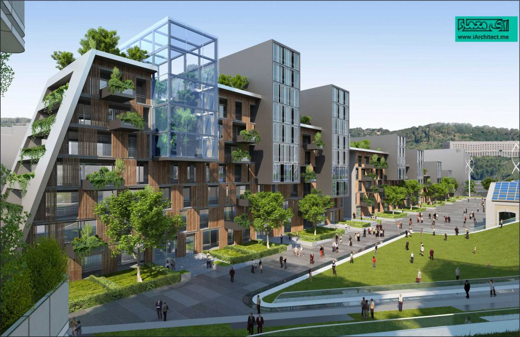 طرح پیشنهادی شهر پایدار خودکفا