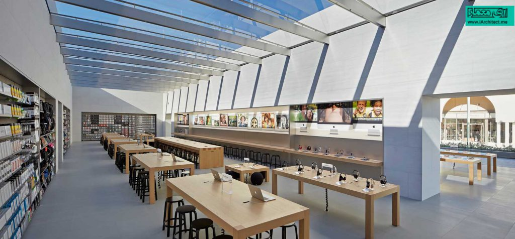 فروشگاه اپل در استنفورد