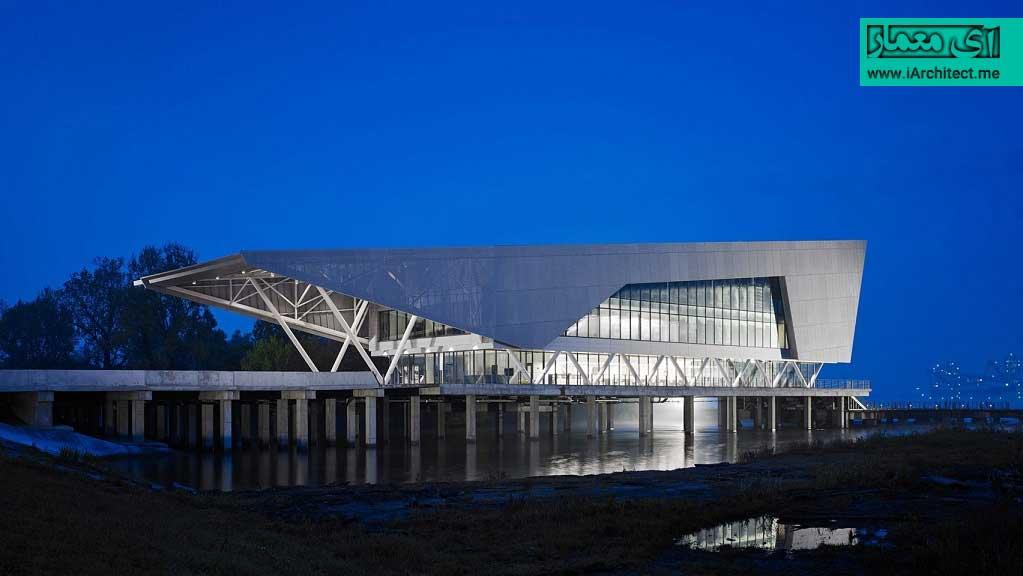 ساختمان موسسه تحقیقات آب