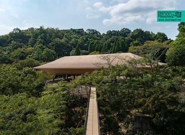 پاویونی شبیه به کشتی به عنوان یادبودی از مرگ های دریایی در فوکویاما / شرکت معماری Sandwich