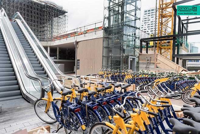 پارکینگ دوچرخه در اوترکت