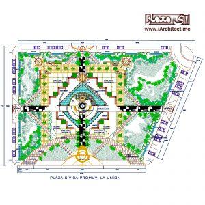 نقشه پارک
