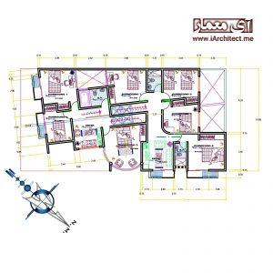 آپارتمان مسکونی - تجاری 2 طبقه