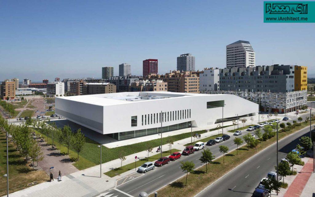 ساختمان مرکز فرهنگی، ورزشی و اجتماعیِ سالبورئا