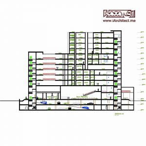 نقشه ساختمان امور مالی و حسابداری