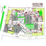 نقشه مرکز فرهنگی و هنری