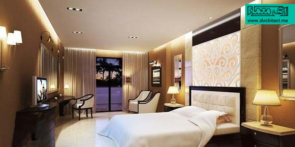 ایده نورپردازی اتاق خواب