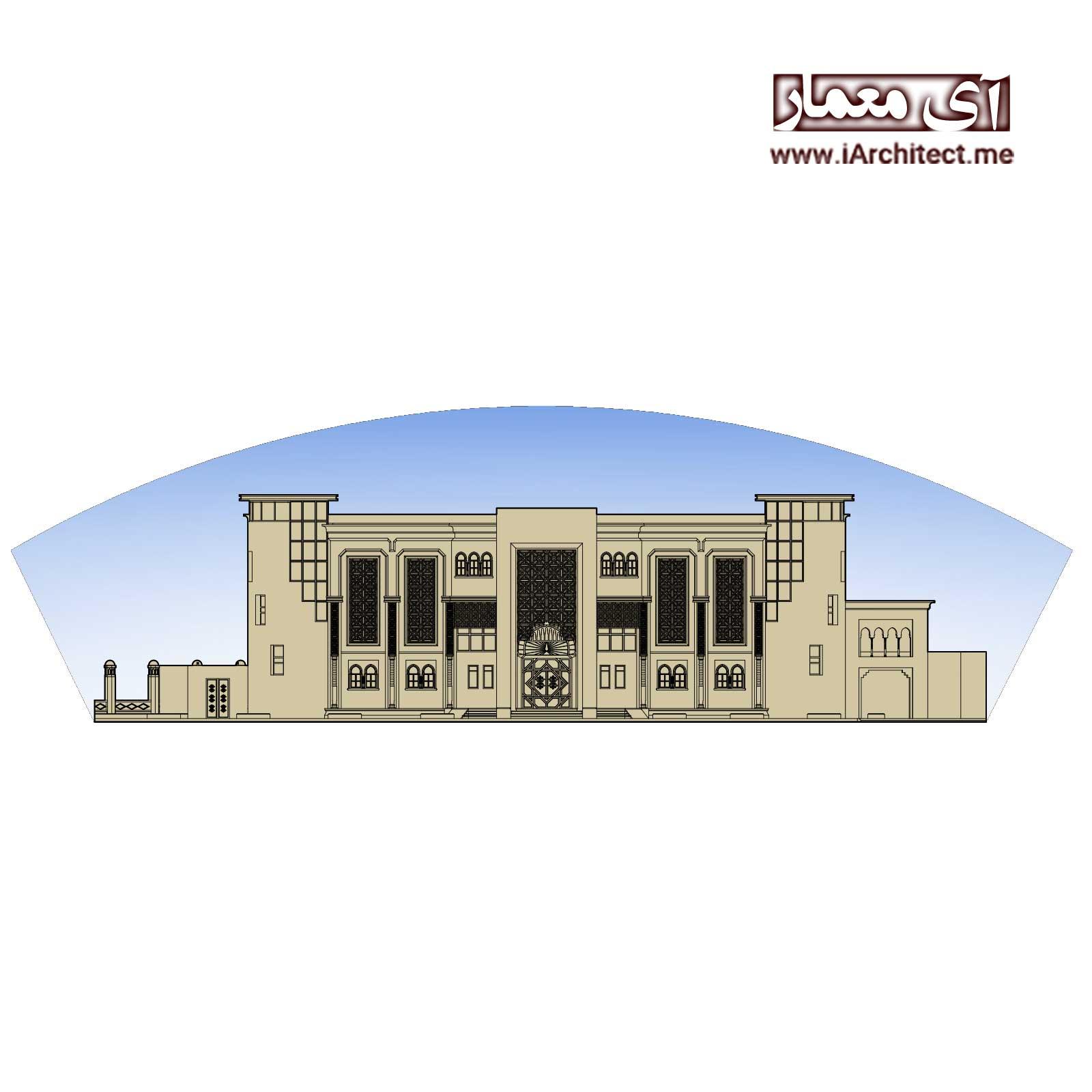 دانلود پلان معماری بانک