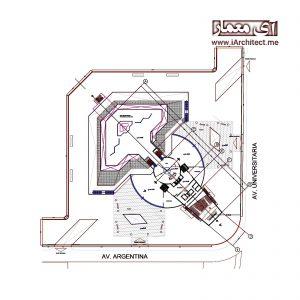 دانلود نقشه موزه هنر معاصر