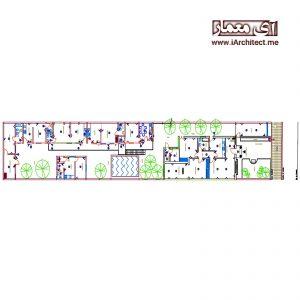 دانلود نقشه خانه مسکونی